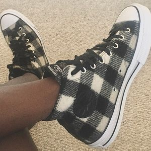 Converse x Woolrich sneakers
